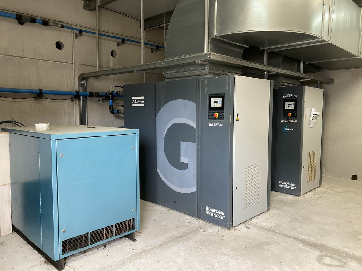 ATLAS COPCO + WORTHINGTON GA 55 Plus + GA 75 VSd